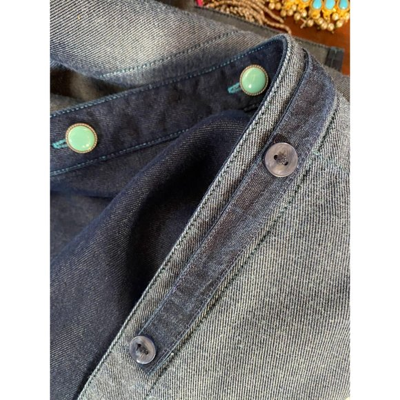 Stubbs Collection Chambray Western Shirt